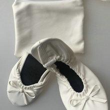 Большая скидка! Портативный женские складные balleirna рулонные балетки путешествия и покупки, свадебный подарок, специальное предложение