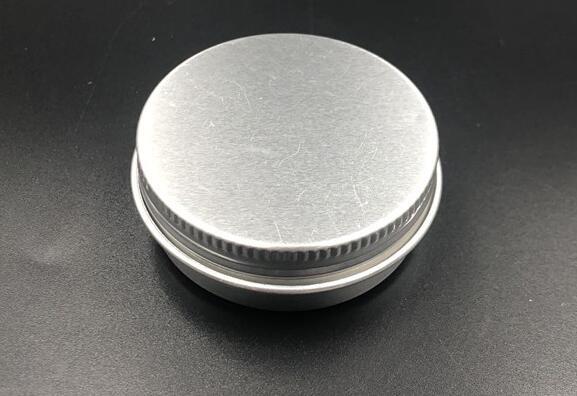 500pcs 50g Empty Aluminum Cosmetic Jar Container Screw Cap Makeup Container Case Tea Box