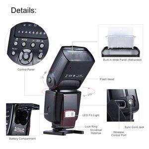 Image 2 - Andoer AD 560 II đèn Flash Có Thể Điều Chỉnh ĐÈN LED Lấp Đầy Ánh Sáng Đa Năng Đèn Flash cho Canon Nikon Olympus Pentax máy ảnh