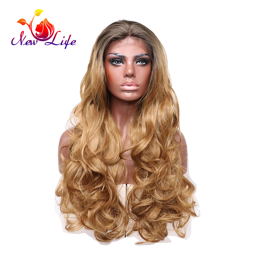 Blonde And Brown Lace Front Wigs 74