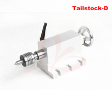 CNC tailstock 4 Axis MT2 Rotary Axis Lathe Engraving Machine Chuck for Mini CNC router woodworking