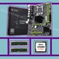 X58 LGA1366 скидка материнская плата huanzhi X58 Pro Материнская плата с процессором Intel Xeon X5680 3 33 GHz RAM (2*16G) 32G DDR3 REG ECC