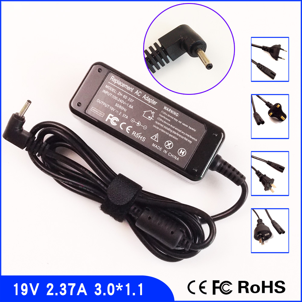AJEYO 19V 2 37A font b Laptop b font Ac Adapter Charger For Acer Spin 3