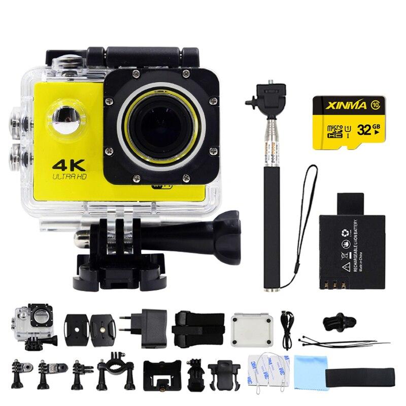 24fps goldfox f02 cámara de la acción 4 k 2.0 \