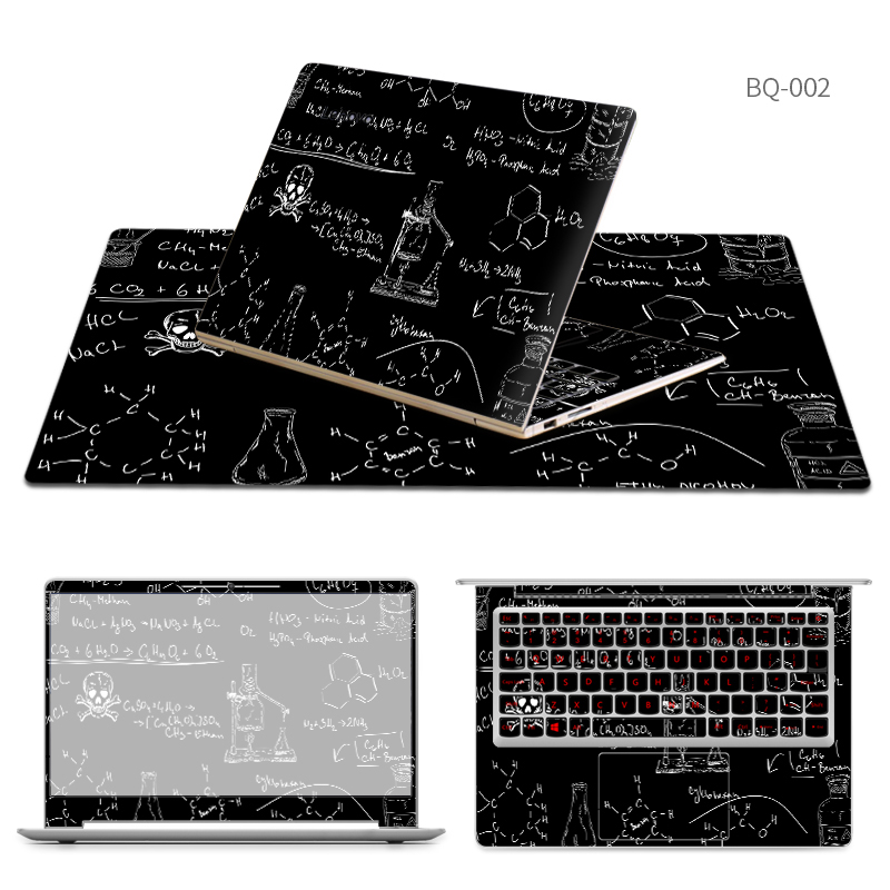 Laptop Stickers with Same Style Mouse Pad Skin for Lenovo xiaoxin 510s/air 12/yoga/700/710/4 pro/g51/miix 310/4/v110/B450 Case bluetooth keyboard for lenovo miix 300 10 8 miix 310 320 tablet pc wireless keyboard miix 4 5 pro miix 700 miix 510 720 case