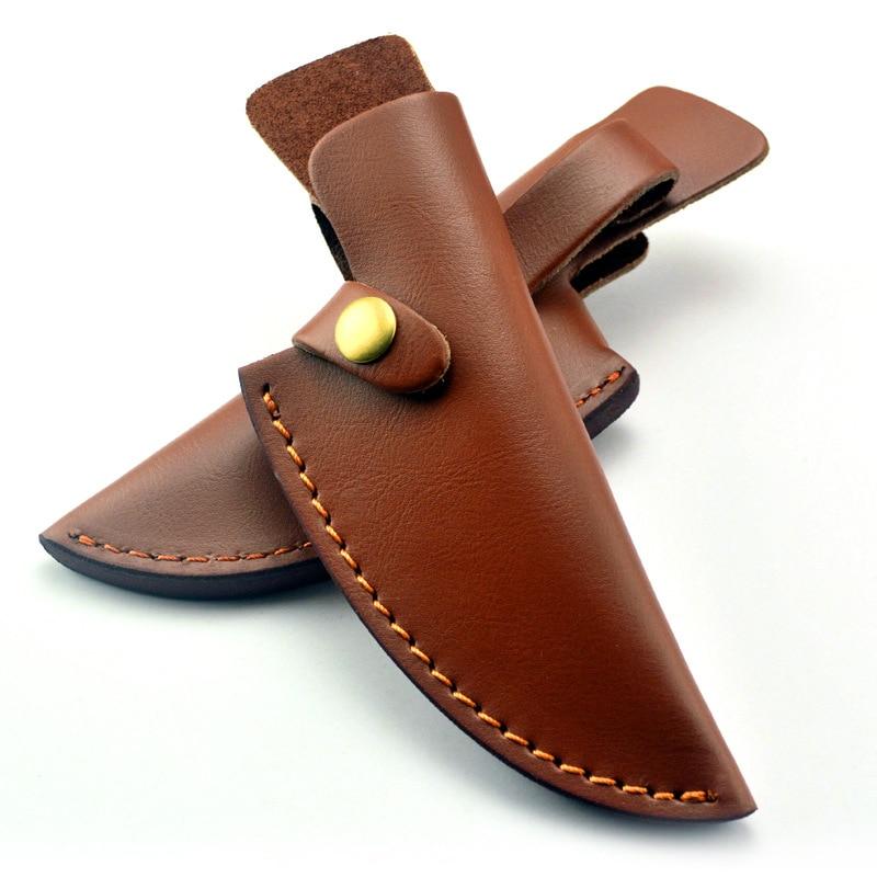 Fixed Blade Knife Genuine Leather Sheath Cover(China)