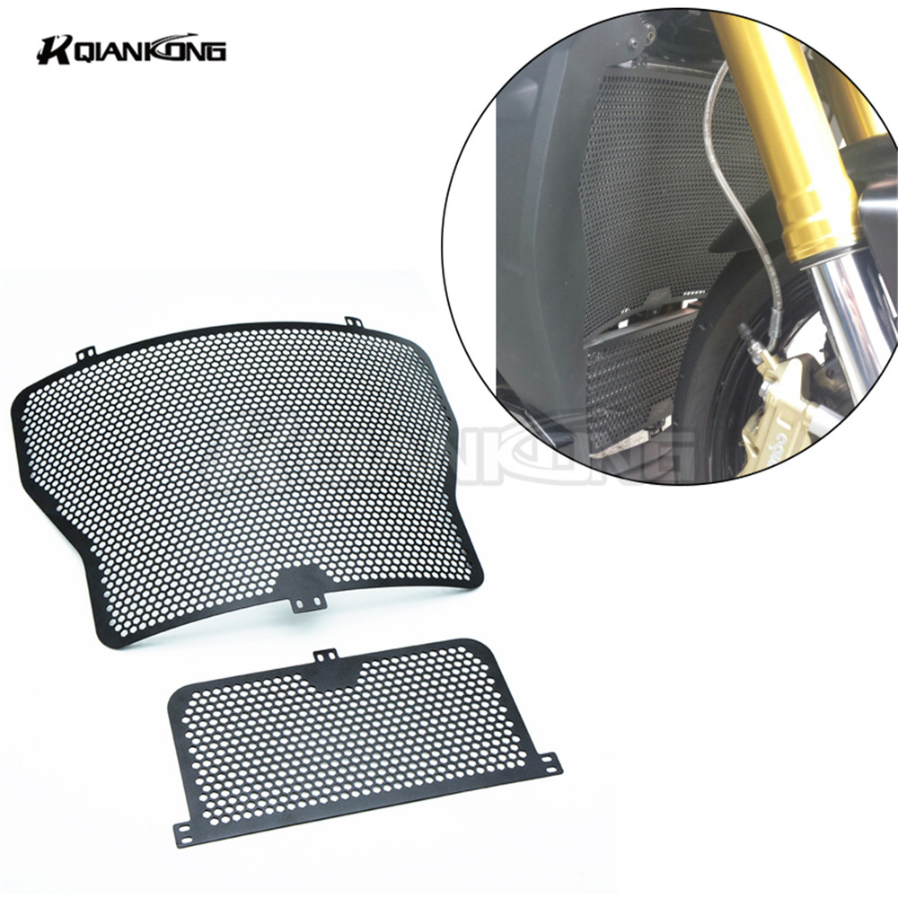 For BMW HP4 S1000RR 2014-16 S1000R 2013-2016 S1000XR 2013-2016 2017 2017 Hot sale stainless Moto Radiator Grille Guard Protector new aluminum radiator and oil cooler guard cover protector grille for bmw hp4 s1000rr 14 16 s1000r xr 13 16 s1000r 2013 2016