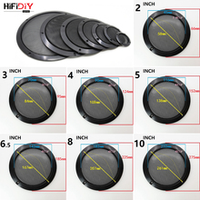 HIFIDIY LIVE 5 6. 8 10 inch Speaker Net Cover High-grade Car home mesh enclosure speakers Plastic Frame Metal iron wire grilles