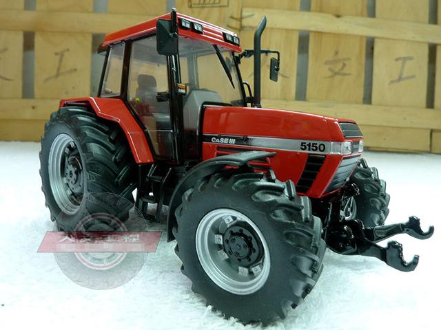 Caso raro 5150 boutique rojo modelo de tractor UH 1:32 Aleación Modelo de Recogida