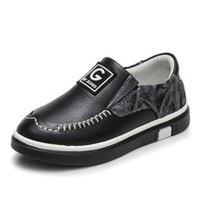 2017 New Arrival Spring & Autumn Sneakers For Boys Fashion High Quality Children Shoes Genuine Leather Kids Casual Shoes KS166