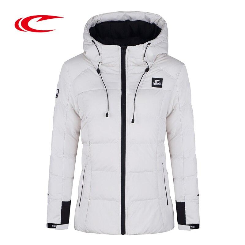 SAIQI 2017 New Warm Hiking Warm Long Sleeve Women Winter Jacket Thick Cotton Coat Outwear 100% Polyester Soft Fabric Down 246802