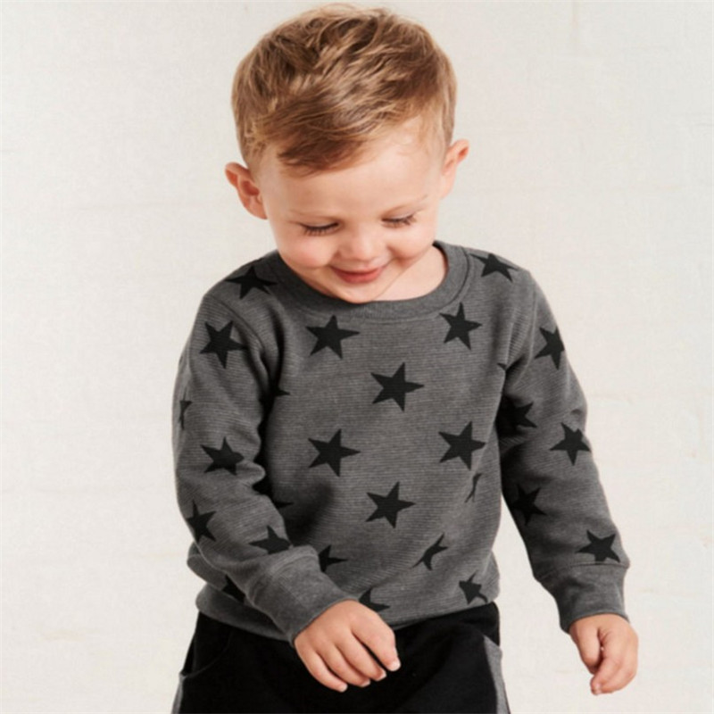 Jumping Meters New Stars Sweatshirts Baby Boys Girls Outwear Cotton Clothing Fashion Style Children Tops Autumn Spring Shirts