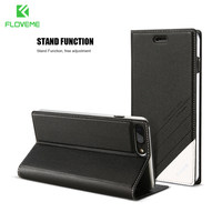 Slim PU Leather Flip Wallet Mobile Phone Cases For Iphone5 5s Full Protection Shell Cover With