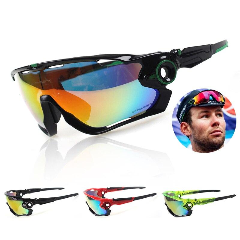 2016 New Man Outdoor Sport Professional Polarized Glasses Goggles Driving Fishing Eyewear Sunglasses UV400 3 Lens