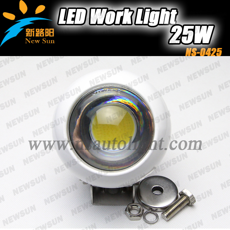 25W Cree Chips LED Work Light flood Beam Offroad Lamp waterproof 4WD ATV Boat Truck Tractor Marine working light wholesale price hollister soldes