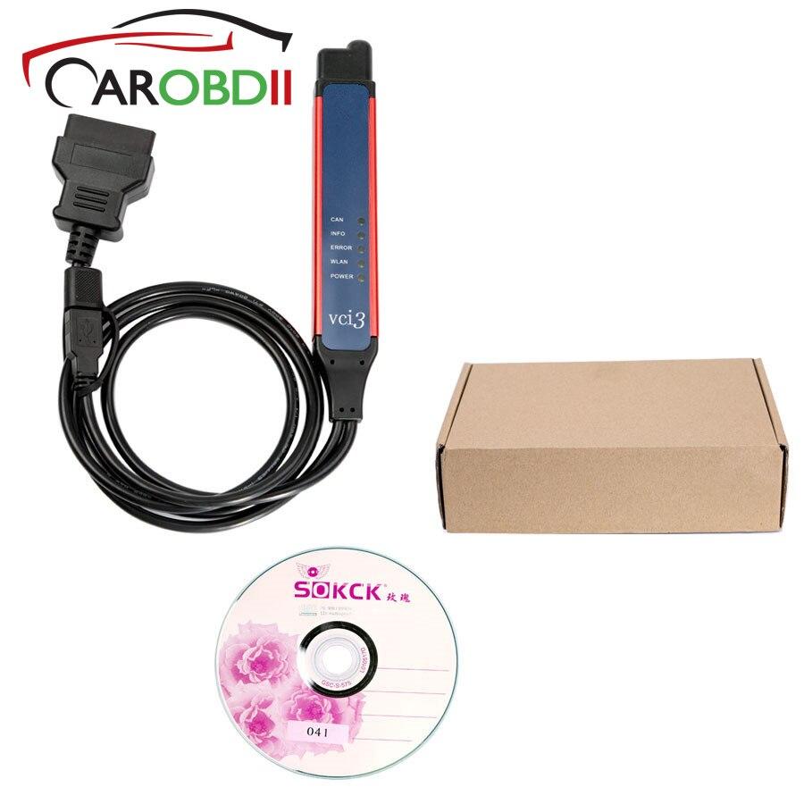 Per scania V2.31 VCI-3 OBD2 Connettore VCI3 Wifi Senza Fili del Camion Professionale Strumento di Diagnostica con SDP3 2.31 VCI3
