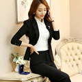 Pantalones Mujer Pant Suits Rushed Real The 2016 Code Ol Occupation Dress Business Suit Slim Sleeved Winter Fashion Clothing