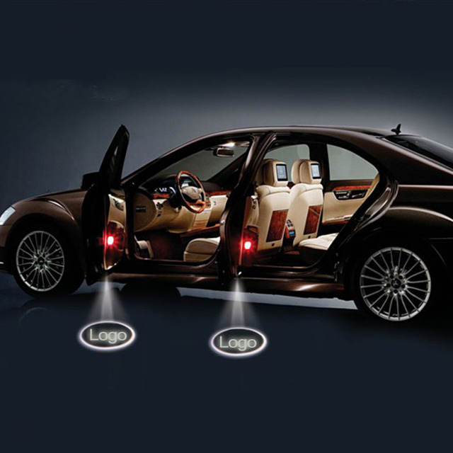 V Led Car Door Logo Laser Projector Light Projection Custom Logo - Car sign with namesonline get cheap d led sign aliexpresscom alibaba group