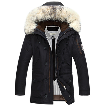 New brand winter jacket men 90% white duck down jacket thick keep warm men down jacket fur collar hooded down jackets coat male new winter outdoor trekking white duck down jacket men hooded outwear duck down coat breathable hiking camping sports jackets