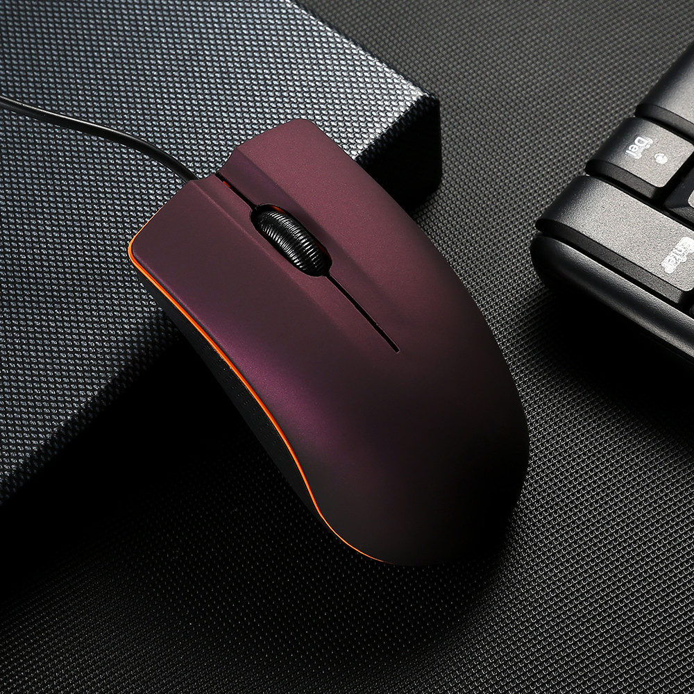 Mini M20 Wired Mouse 1200DPI Optical USB 2.0 Pro Gaming Mouse Optical Mice Frosted Surface