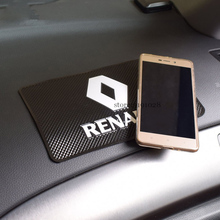 Dashboard-Pad Duster Captur Talisman Logan Renault Anti-Slip-Mat Mobile-Phone Megane