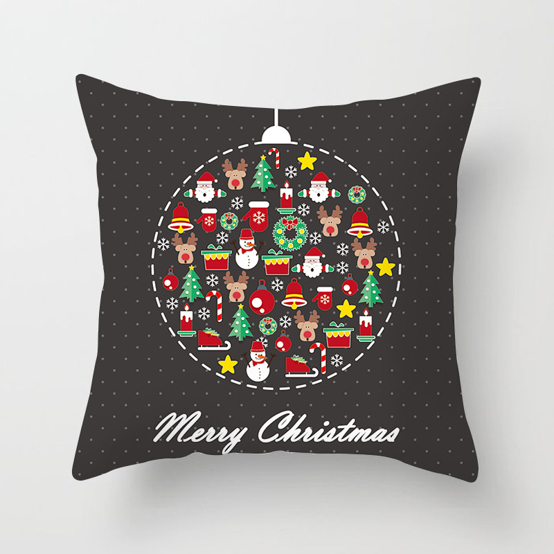 Merry Christmas Decorations For Home Decoration Noel 2018 Christmas Ornaments Christmas 2018 Decor Pillow Case Gifts Xmas Decor  (9)