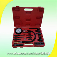 Diesel Engine Compression Tester Kit Cylinder Pressure Meter For Diesel Truck TU 15B