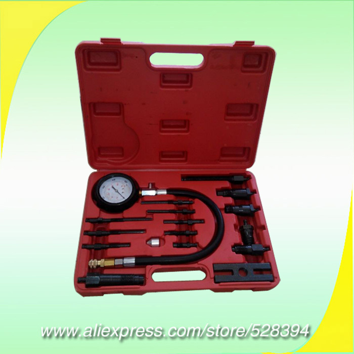Diesel Engine Compression Tester Kit / cylinder pressure meter for diesel truck TU-15B