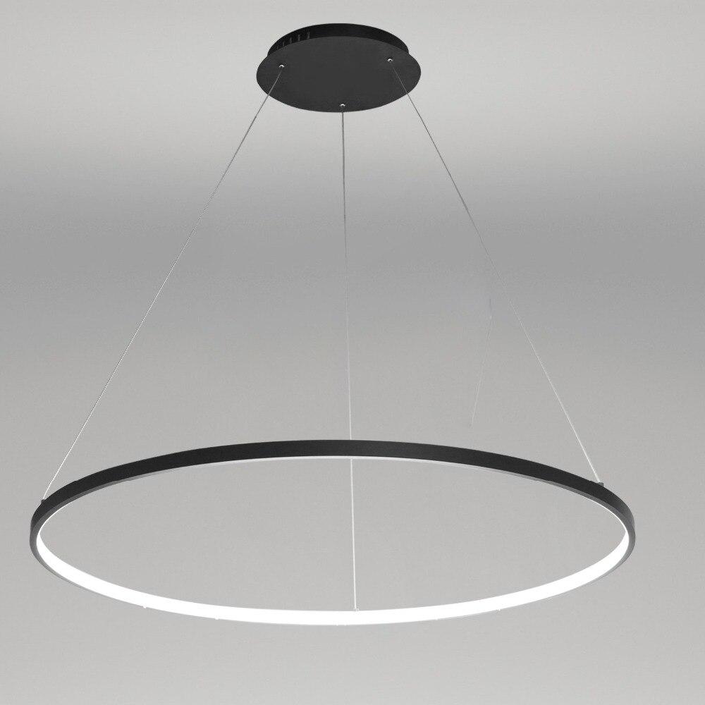 Светодиодный подвесной светильник UMEILUCE, современный дизайн, светодиодный, с кольцом, 220 В ~ 240/100 ~ 120 В, специальный для офиса, гостиной