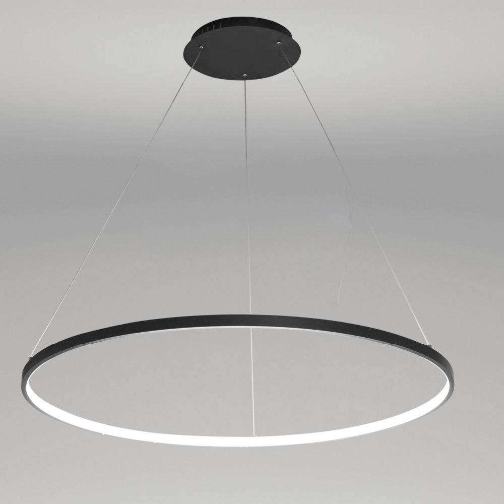 Ecolight Free жүк тасымалдау Led Pendant Light Modern Design / LED сақина / 220V ~ 240/100 ~ 120V / Кеңседе, Showroom, LivingRoom