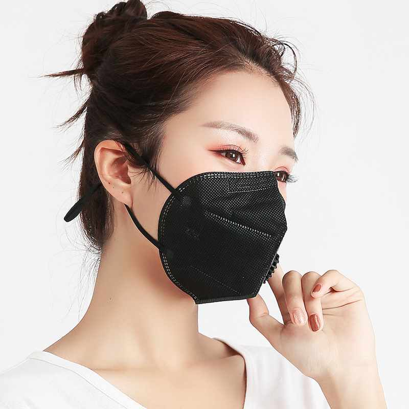 10 Pcs Disposable Activated Carbon Mouth Face Mask Non-Woven Fabric For Outdoor JL