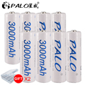 8 Pcs AA Battery Batteries 1.2V AA 3000mAh Ni-MH Pre-charged Rechargeable Battery 2A for Camera