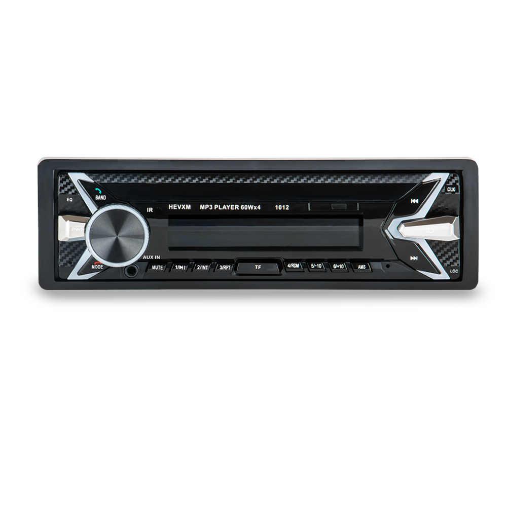 LaBo New 12V Car audio stereo Car Radio Bluetooth V3.0 In-dash 1 Din FM Aux Input Receiver SD USB MP3 MMC WMA Car Radio Playe