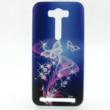 Fashion Ultra Thin Gel Soft TPU Pattern Case For asus zenfone 2 laser ze500kl Silicone ShockProof Phone Back Skin Cover Bags