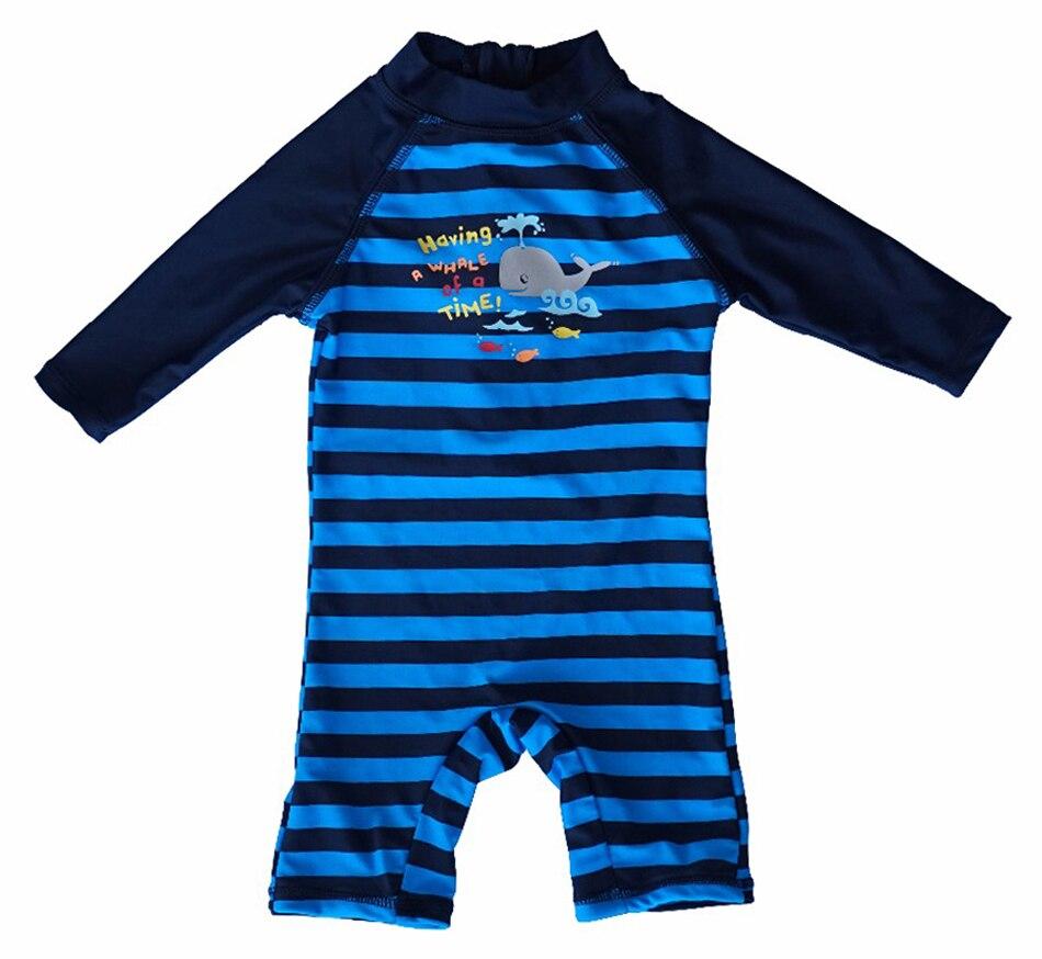 Bonverano(TM) Baby Boys' Sunsuit Swimwear UPF 50+ UV Protection L/S Zipper Color One Piece Swimsuit Rashguard upf50 rashguard bodyboard al004