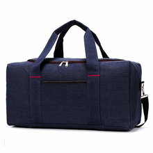 купить Men Travel Bags For Sport Canvas Waterproof Gym Sports Bag Big Crossbody Bags For Women Outdoor Luggage Storage Boarding Bags дешево
