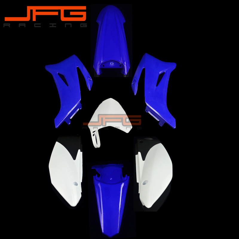 Blue Plastic Kit Fender Farings For TTR110 TTR 110 Pit Dirt Bike Off Road Motorcycle mini dirt pit bike small apollo 47cc 49cc 50cc plastic cover kit racing motocross off road motorcycle