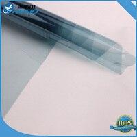 152CM X 500CM Window Tint Film Light Blue 75% Roll VLT 2 PLY Auto Car House Glass