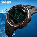 Relógios de luxo Homens Esportes Relógios 50 m À Prova D' Água Eletrônica Digital LED Relógio Militar Dos Homens Do Esporte Ao Ar Livre relógio de Pulso multifunções