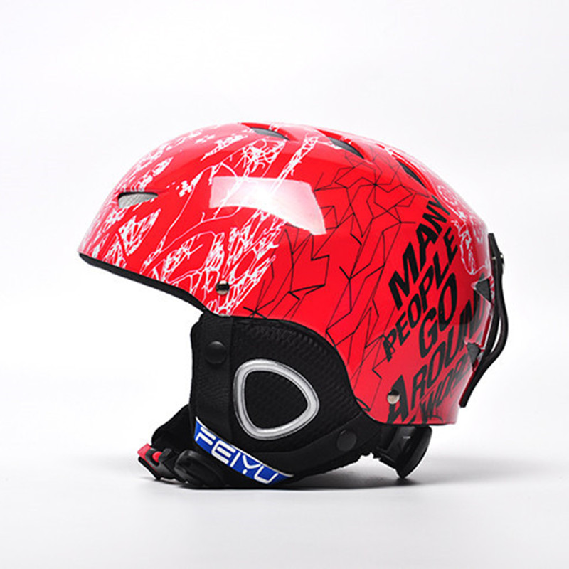Skiing Helmet Adults snowboard Skiing helmet Equipment Snow Sports Saftly Security Helmets Skate Horse riding helmet kids ...