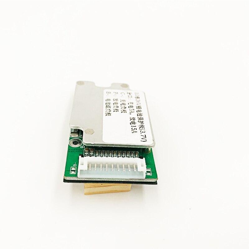 Batería de 10 s 36 V 15A Li-ion batería de litio 18650 batería BMS PCB Balance Board