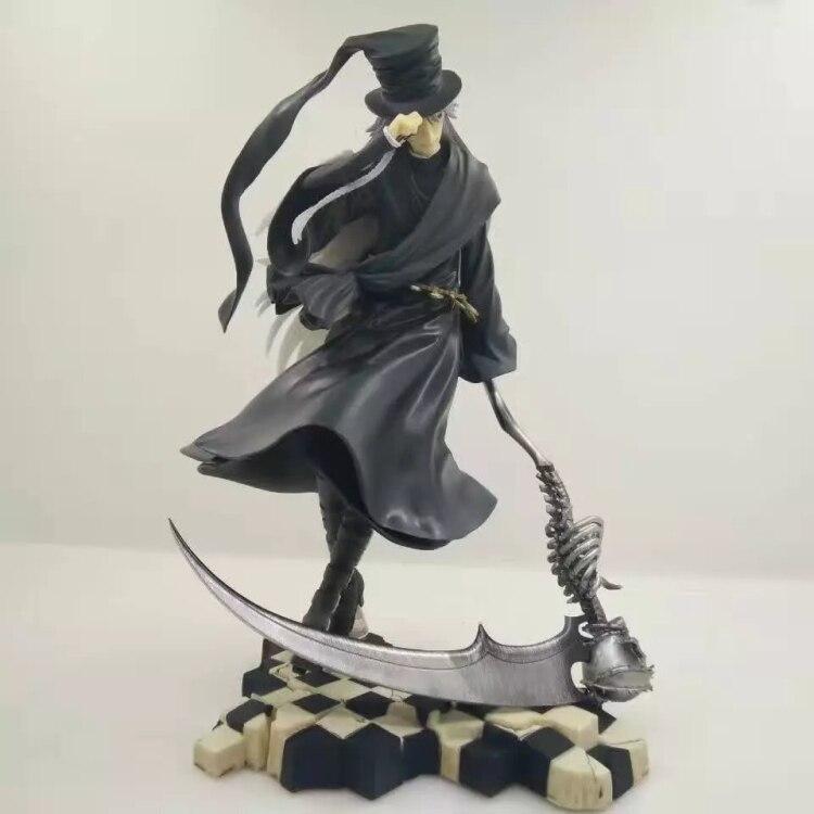 New Kotobukiya Figurine Toboso Yana Comic Anime Black Butler Book Of Circus ARTFX J mortician 25CM Action Figure