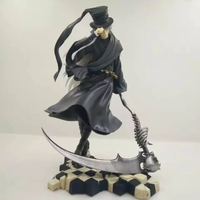 New Kotobukiya Figurine Toboso Yana Comic Anime Black Butler Book Of Circus ARTFX J mortician 25CM Action Figure