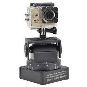 Image 5 - ZIFON YT 260 RF пульт дистанционного управления RC моторизованный наклон поворота для фотокамеры s мобильных телефонов Go pro Спортивная камера Sony w/ 1/4 дюймовая пластина