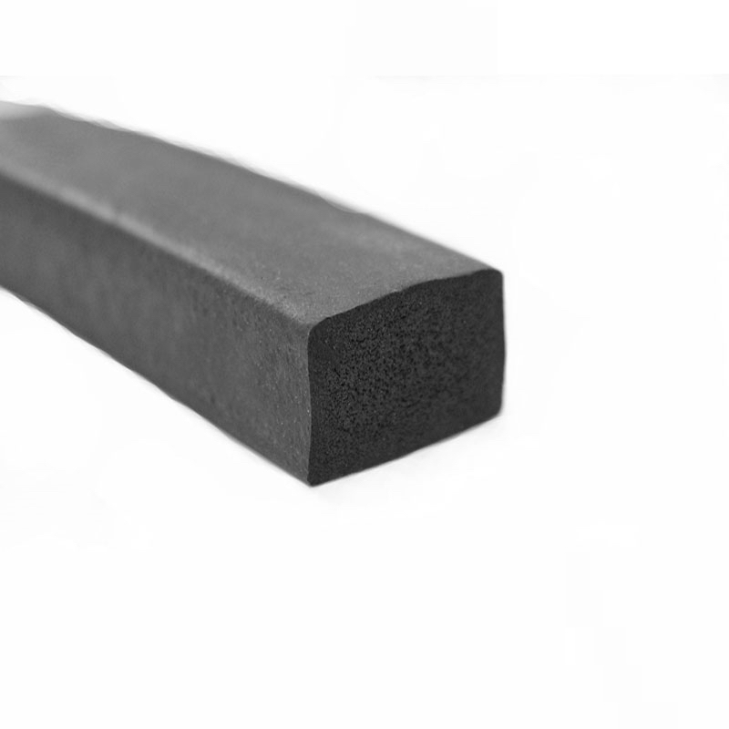 EPDM Rubber Foam Sponge Bar Seal Strip Flat 2 3 5 8 <font><b>10</b></font> 15 20 <font><b>25</b></font> 30 x 8 <font><b>10</b></font> 15 20 <font><b>25</b></font> 30 35 40 45 50mm <font><b>1</b></font> Meter Black image