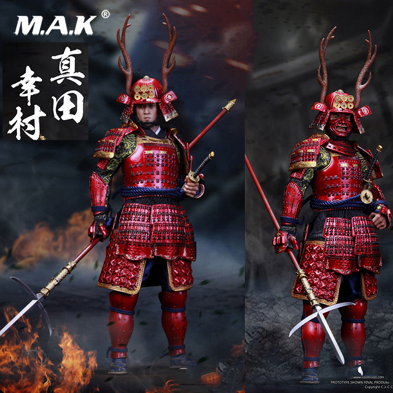 COOMODEL NO.SE006 1/6 SERIES OF EMPIRES JAPAN'S WARRING STATES SANADA YUKIMURA Full set Action Figure Colletible Model Toys for collection 1 6 full set series of empires japan s date masamune deluxe figure model se009 warring states model for fans gift