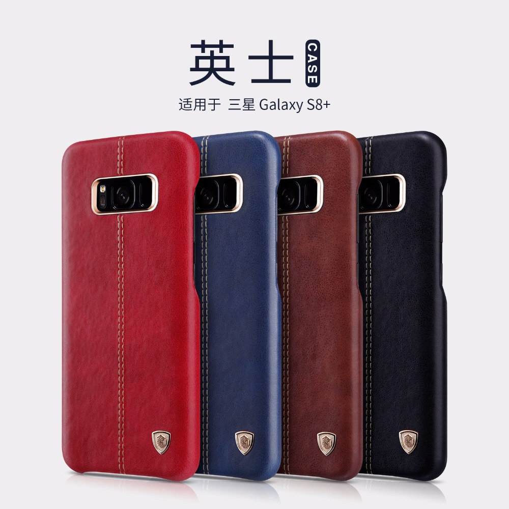 NILLKIN Englon Series Leather Case For Galaxy S8 Case For Galaxy S8 Plus Retro Leather Back