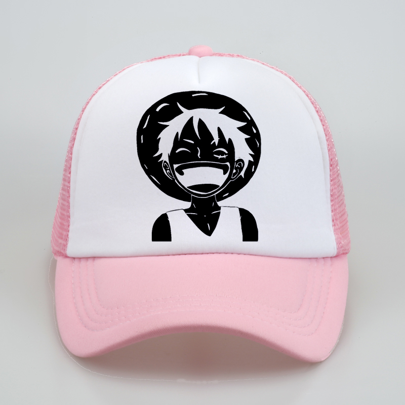 Anime One Piece Trafalgar Law/'s Sign Head Baseball Cap Visor Hip-pop Hat