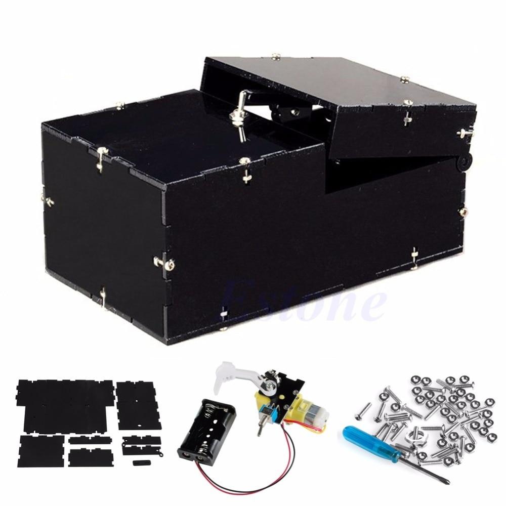 Turns Itself Off Useless Box Kit Practical Jokes Gift