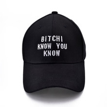 Rihanna tour bitch I know you know army Baseball cap Unisex Adjustable Cotton hip-hop hat цена